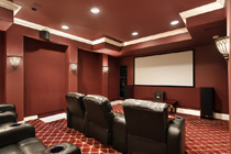 Custom Electrical Theatre Room Wiring