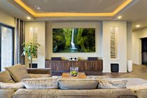 Custom Electrical Living Room Wiring